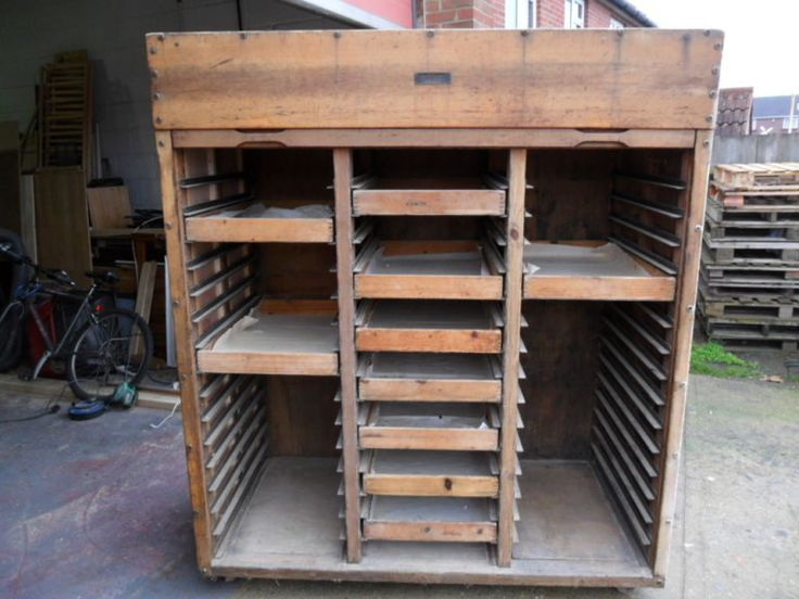 Our new/old Tambour unit coming to our new Bakehouse for the purpose it was first built #provingunit