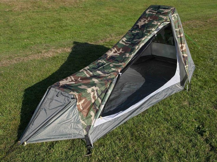 Lightweight Backpacking Tent -  Surprisingly spacious little tent made from high quality materials