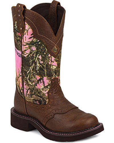 Justin Women's Gypsy Camo Cowgirl Boot Round Toe Brown US Justin Boots http://www.amazon.com/dp/B00PH6DRUW/ref=cm_sw_r_pi_dp_mzwTub0V6S2MN