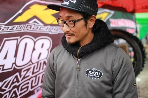 2013  Design / Kazu Racing Project Team Logo and Apparel