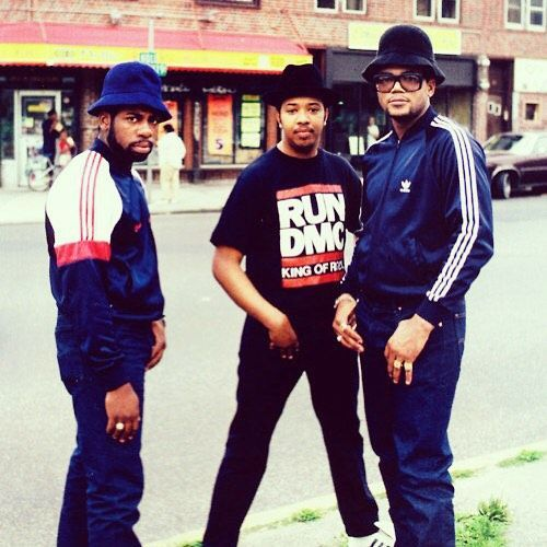 Our second entry is Run-DMC and Hip-Hop. Originally from Queens in #newyork Run DMC (Joseph Simmons, Darryl McDaniels and Jam Master Jay) were extremely influential in defining Hip-hop #culture and fashion.: