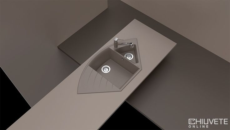 Functionalitate suplimentara inseamna ca puteti adauga accesorii suplimentare chiuvetei, precum sita din otel inoxidabil, pentru confort sporit in bucatarie. Dimensiunile generoase de 1082 mm x 575 mm, impreuna cu cele doua cuve cu adancime de 19 cm, respectiv 11 cm înseamna confort sporit. Chiuveta de colt cu posibilitate de montare sub blat si deasupra blatului ofera optiuni flexibile de adaptare a spatiului din bucatarie.