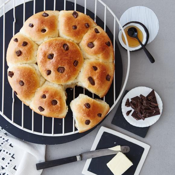 Rezept: Stracciatella-Brioche von Zucker, Zimt & Liebe