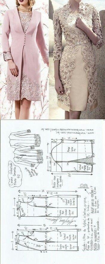 Jacket adorned with lace...<3 Deniz <3