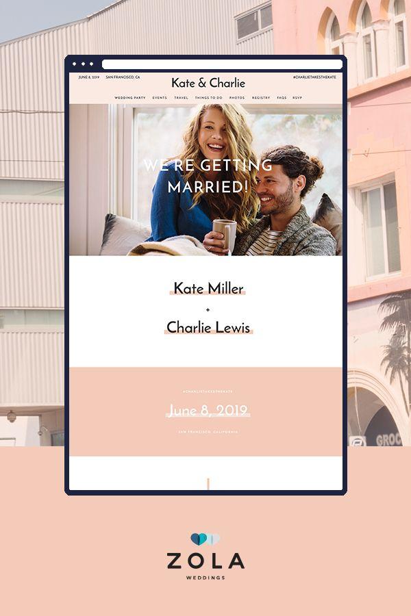 38 best Wedding Website Designs images on Pinterest | Website ...