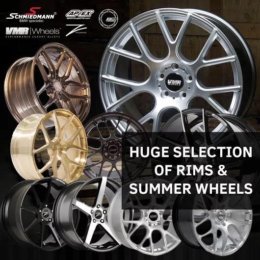 It's time for some summer rims! We have gathered most of our rims on this site http://goo.gl/D0mpsw including all our original rims as well. Check them out! ‪#‎schmiedmann‬ ‪#‎bmwspecialist‬ ‪#‎bmw‬ ‪#‎tires‬ ‪#‎rims‬ ‪#‎vmr‬ ‪#‎zperformance‬ ‪#‎bcforged‬ ‪#‎apexrims‬
