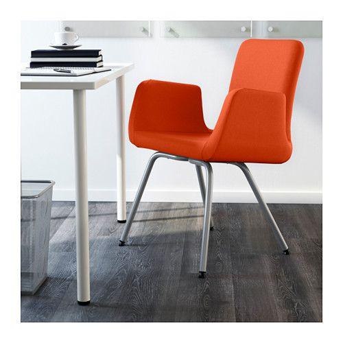 PATRIK Krzesło konferencyjne - Ullevi pomarańczowy, - - IKEA