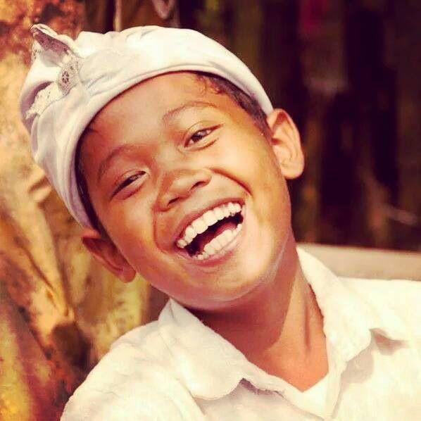 Lachende jongen