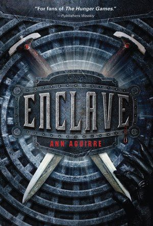 Enclave (Razorland Series #1), a zombie book that you will love. Got violence, love, and fighters. The world created in Enclave is very interesting.