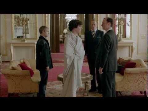 Sherlock: Get off my Sheet!