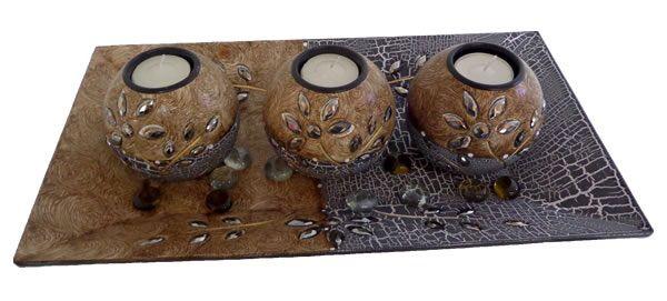 Centros de mesa decorativos www.almaludeco.com Envíos a todo Colombia