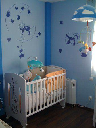 17 mejores im genes sobre pintar paredes en pinterest for Decoracion de cuarto para nina recien nacida