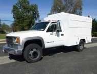 1999 #GMC 3500HD $19,500.00 US #Truck, 6.5L #Diesel, #Automatic, A/C, Miller Bobcat 225 Diesel Welder W/ 23 Hours, #Electric #Air #Compressor, 9' Enclosed Utility Bed, Ex-State Owned, No Rust, Odometer Reading 31,418 #Miles.  #trucks, #commercialtrucks, #heavyequipmenttrader, #heavydutytrucks, #lightdutytrucks, #trucksbody, #trailers, #CaterpillarEquipment