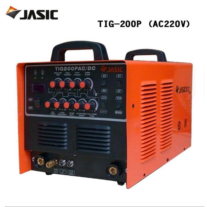 418.56$  Buy now - http://aliapy.worldwells.pw/go.php?t=32788601594 - Jasic welder WSE-200P/ AC / DC pulse TIG welder and aluminum welding machine TIG-200P 418.56$