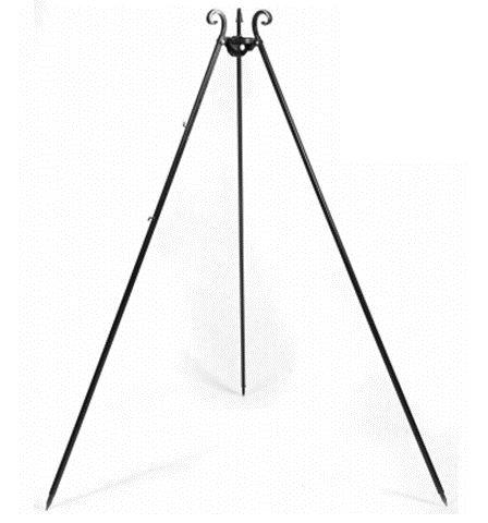Håndlavet Trefod 180 cm m. kæder & spole