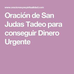 Oración de San Judas Tadeo para conseguir Dinero Urgente
