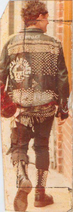 80s Punk. Anarchopunk? Peace punk?