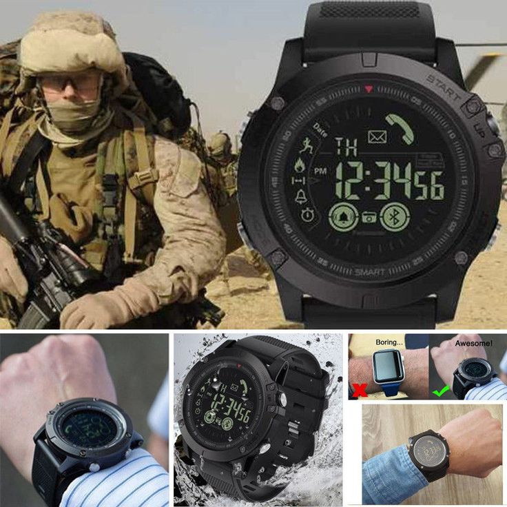 Details about T1 Tact Watch Military Grade Smart Watch ...