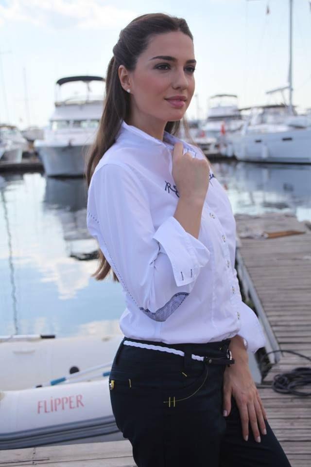 Modische #Bluse aus der #Damenmode von LISA #CAMPIONE.