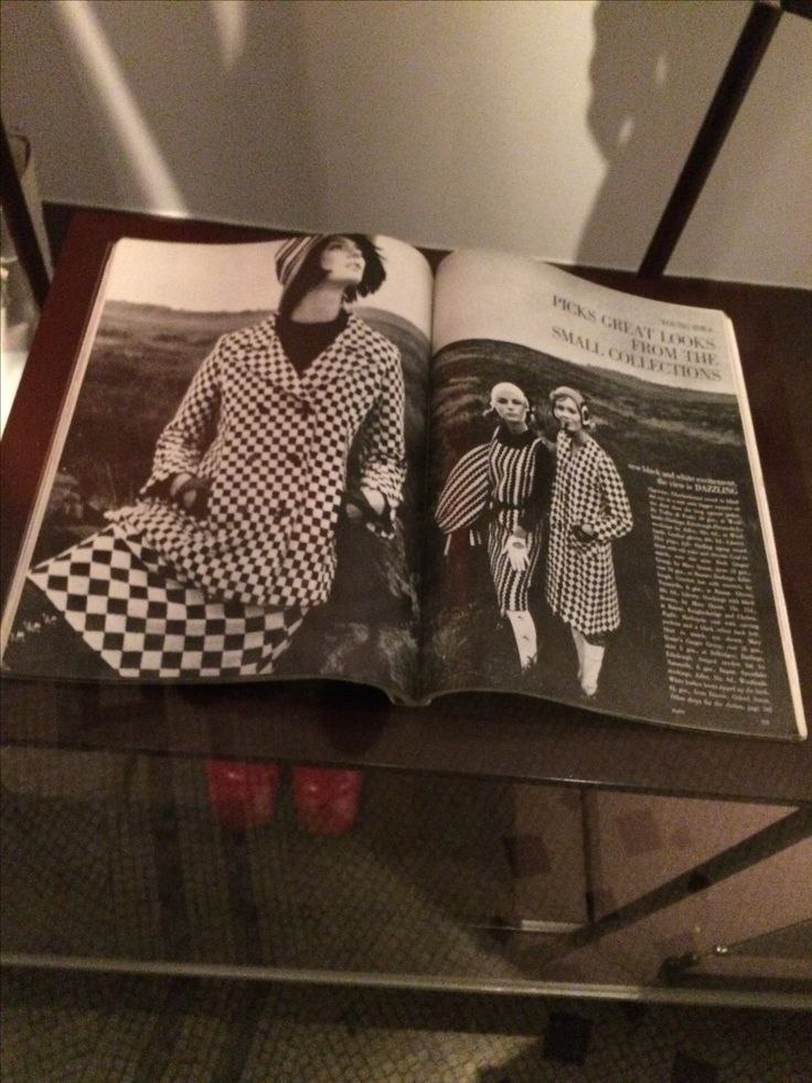 Vogue article styled and edited by Marit Allen 1964