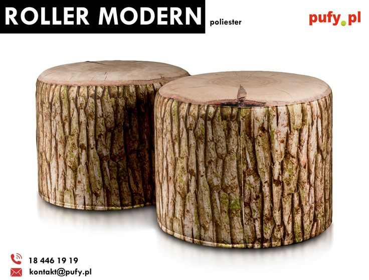 Teraz roller modern dostępny w nowym wzorze i w promocyjnej cenie 174 złotych!  #rollermodern #pufka #pufasako #podnóżek #podnóżekmodern #pufypl #ecopuf #woreksako