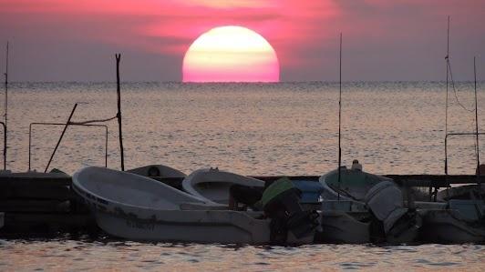 Sunset in San Felipe, Yucatan