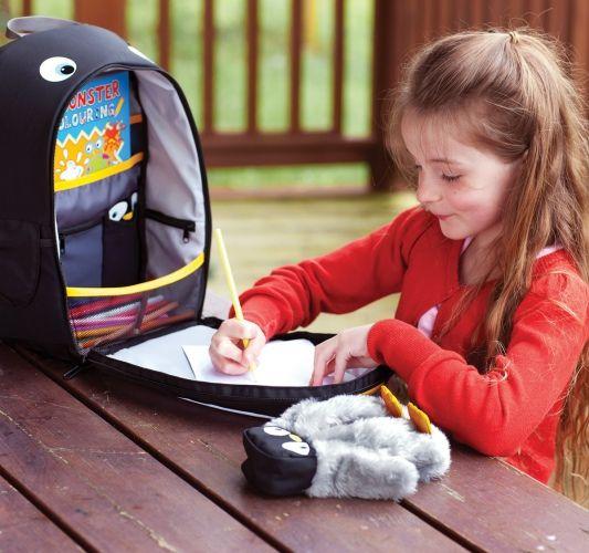 LittleLife - Plecak z Piórnikiem Pingwin