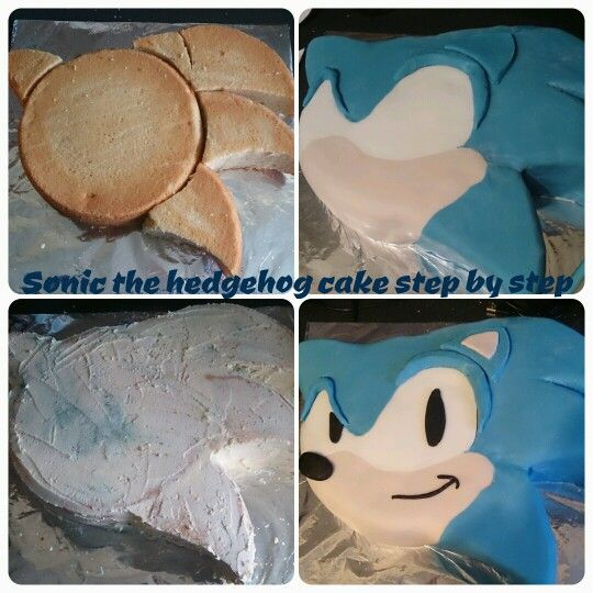#sonic the hedgehog #cake                                                       …