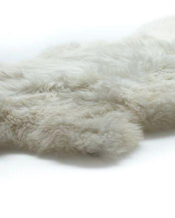 Witte lamsvachten dutchskins