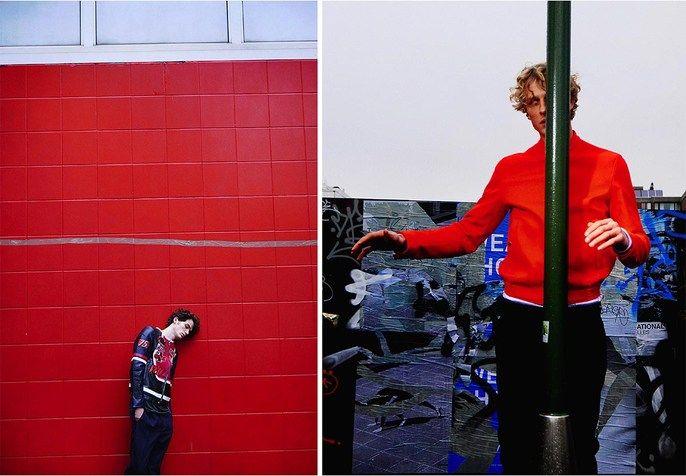 "Serge Leblon new shoot for 10MEN SS15, ""Hallucinations"""