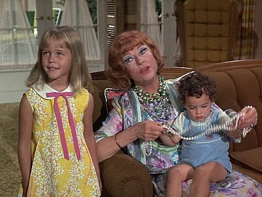 Bewitched,-7x03-,The Salem Saga 1972, Agnes Moorehead, Erin Murphy