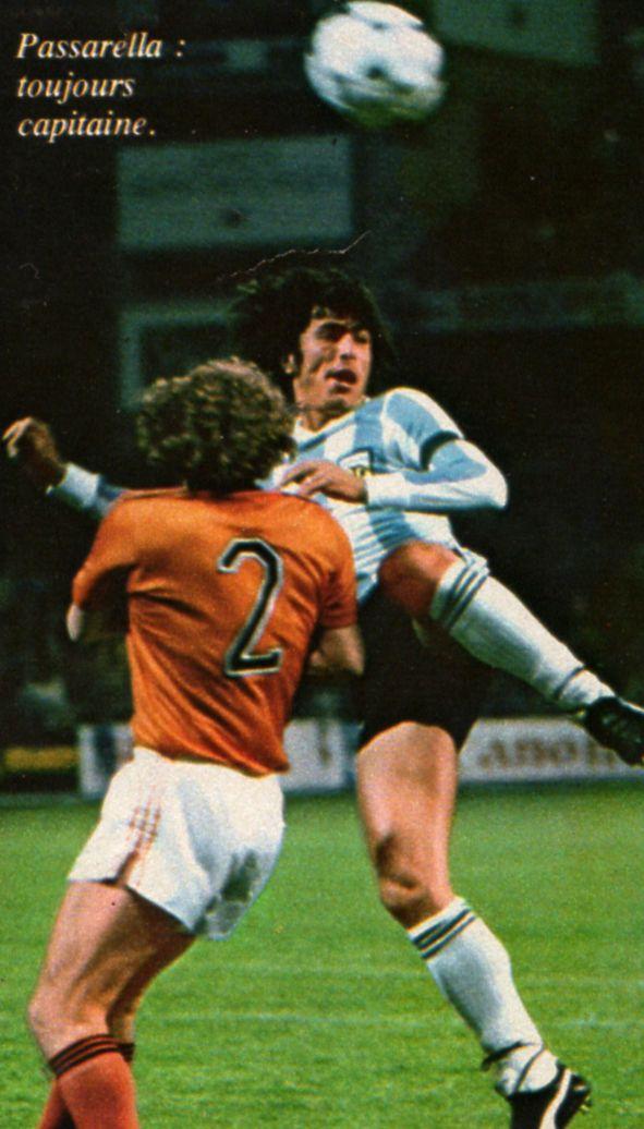 Argentina Holanda 78 Seleccion Argentina De Futbol Daniel Passarella Argentina Mundial