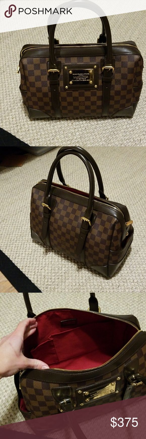 Lv berkley style bag Price reflects authenticity... new condition used once as a carry on. Same dimensions as the original. Adjustable handles. LV Bags Satchels