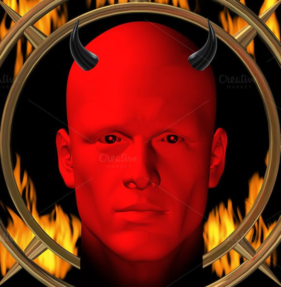 Devil Hellfire by sirylok on @creativemarket