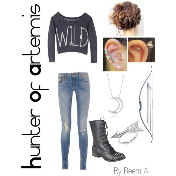 Hunter Of Artemis Casual Outfit, Cabin 8, Percy Jackson Inspired Outfit