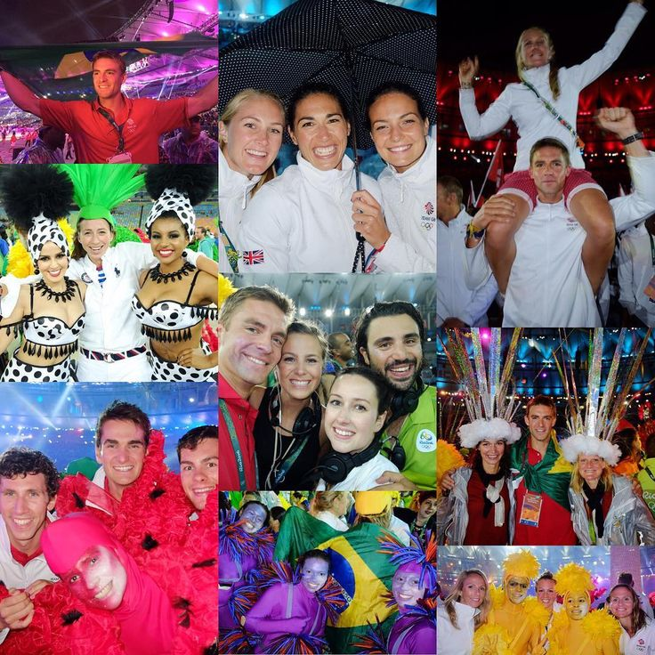 Pete Reed -  [Closing Ceremony Mini Series] Rio Carnival ✔️ Amazing party with the international rowing family. Obrigado Rio