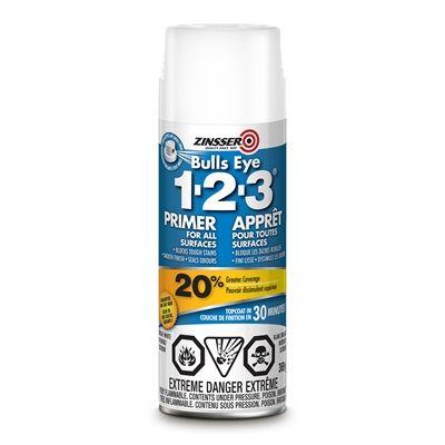 Zinsser Bulls Eye 1-2-3® 384ml Primer-Sealer Spray
