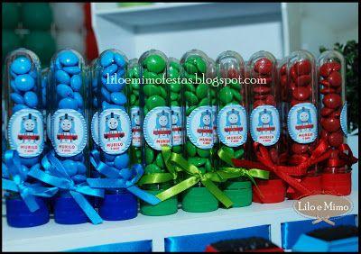 Lilo e Mimo Festas: Festa do Thomas e Seus Amigos
