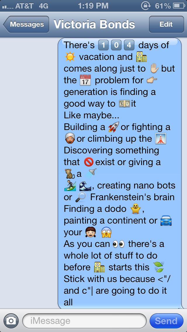 how to make pictures with symbols for text messages