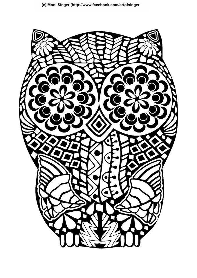 Silhouette plotter file free, Plotter Datei kostenlos, plotter freebie, owl, Eule, doodles, doodle