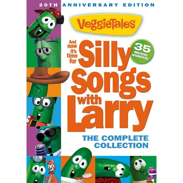 Veggie Tales: And Now It's Time for Silly Songs with Larry