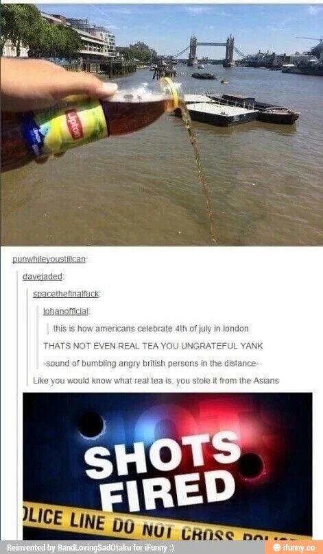 England vs America haha