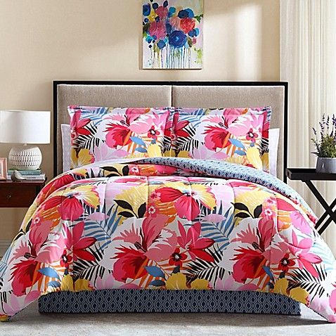 Liven up your sleeping quarters with vibrant color and style in the Lemon & Spic...
