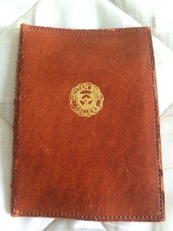 Retro  William Smith College  Leather ID by PompeyCollectibles, $20.00
