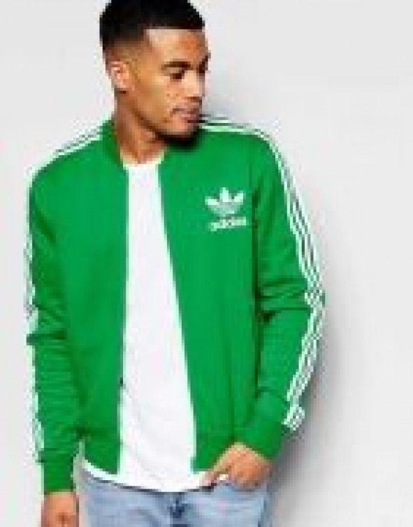 Modern Adidas Originals adicolor Track Jacket Green Men