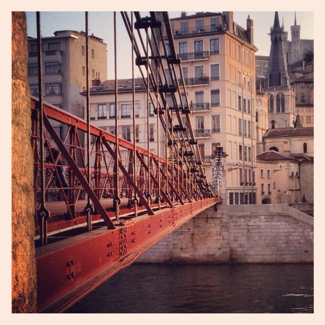 Lyon 1er La passerelle