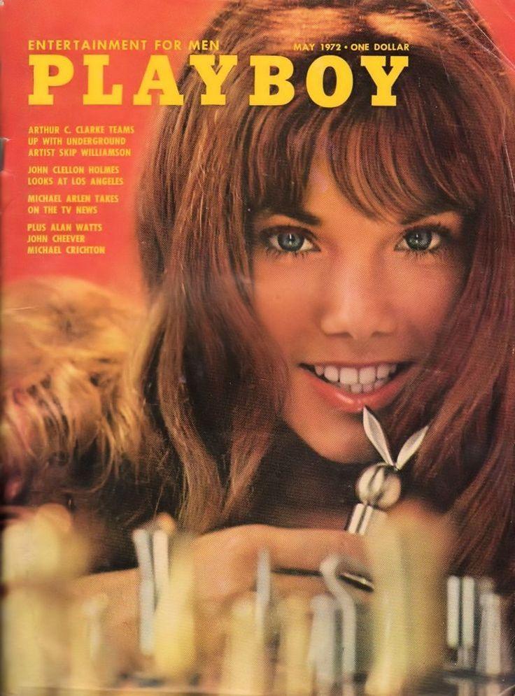 Playboy May 1972 Deanna Baker Howard Cossel Michael Crichton Valerie Perrine RCV