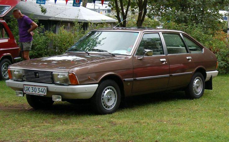 7e car Simca chrysler 1309 SX 1979 uiteraard dan wel  Hollands kenteken ...ook bruin.