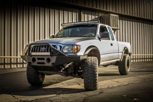 "96-04 Tacoma ""SUMMIT"" Front Plate Bumper"