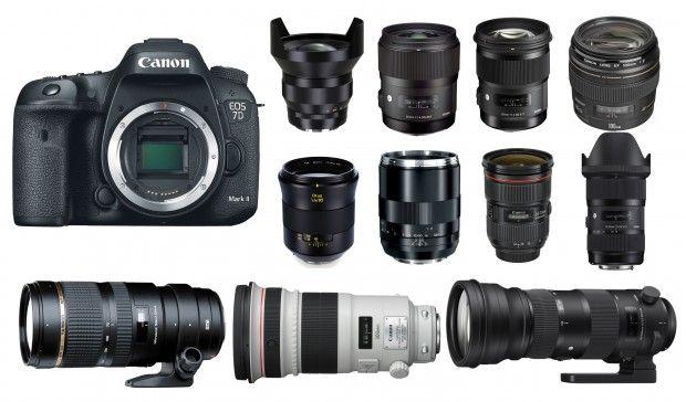 Best Lenses for Canon EOS 7D Mark II   Camera News at Cameraegg